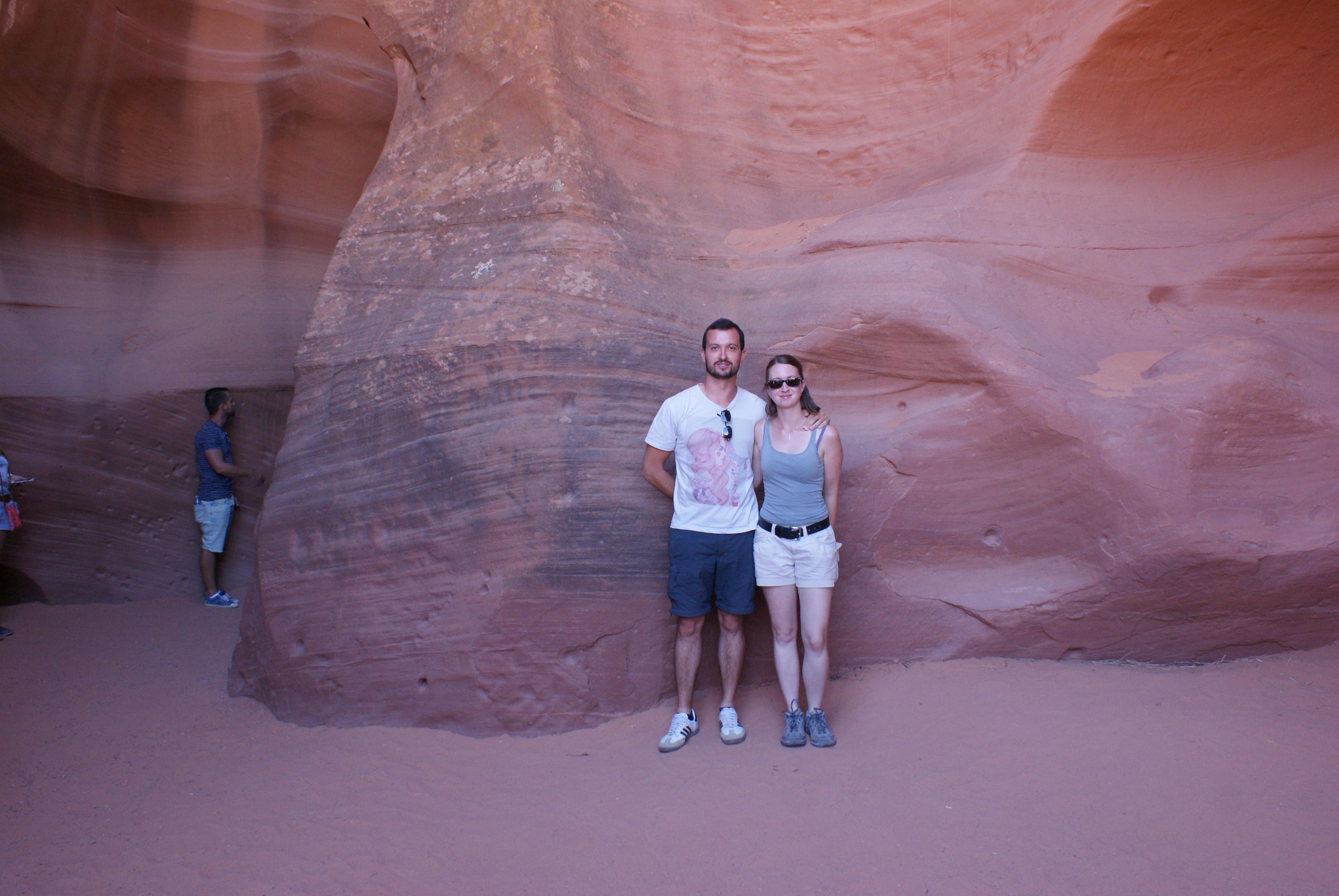 Entrée Antelope Canyon
