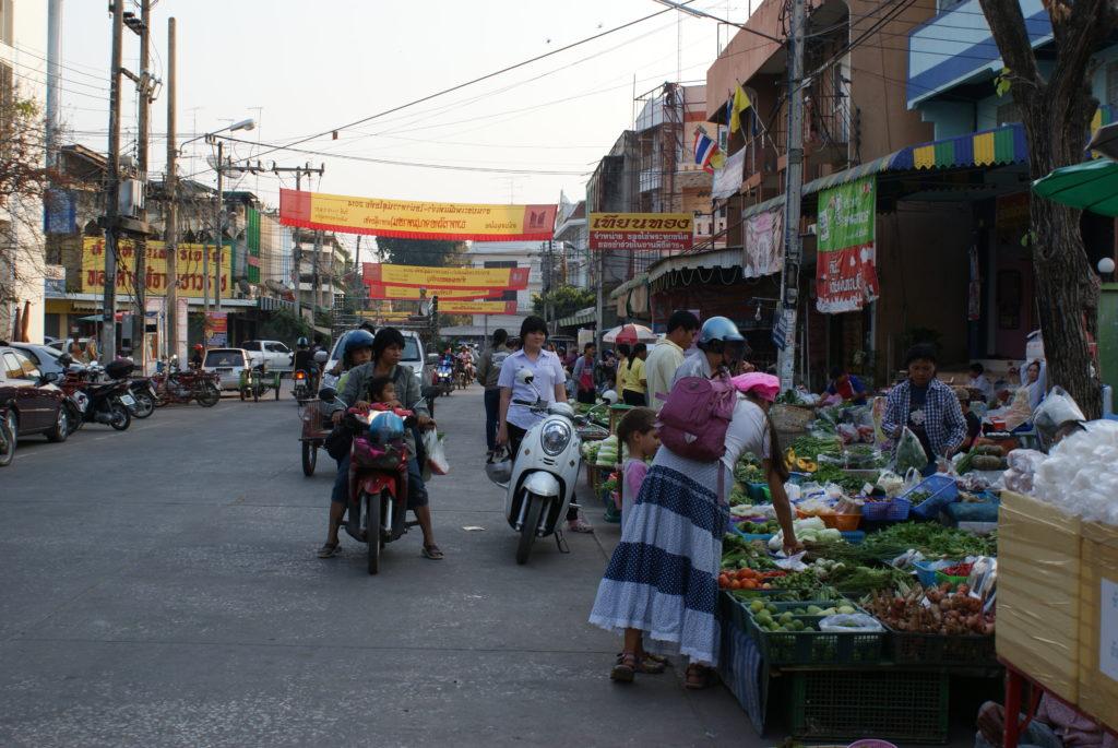 New Sukhothai market