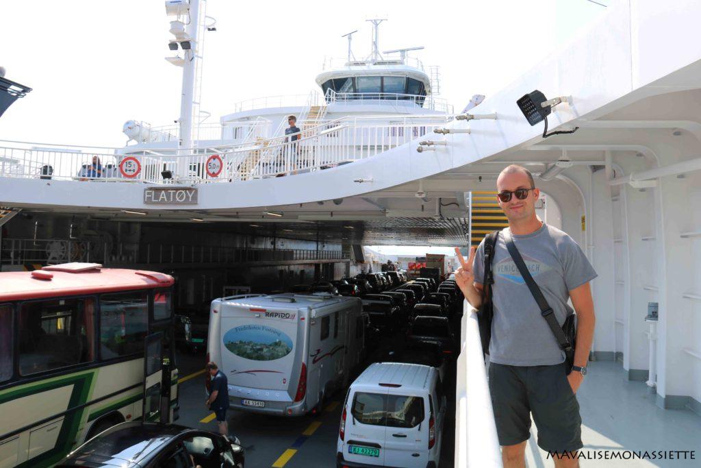 Traversée en ferry