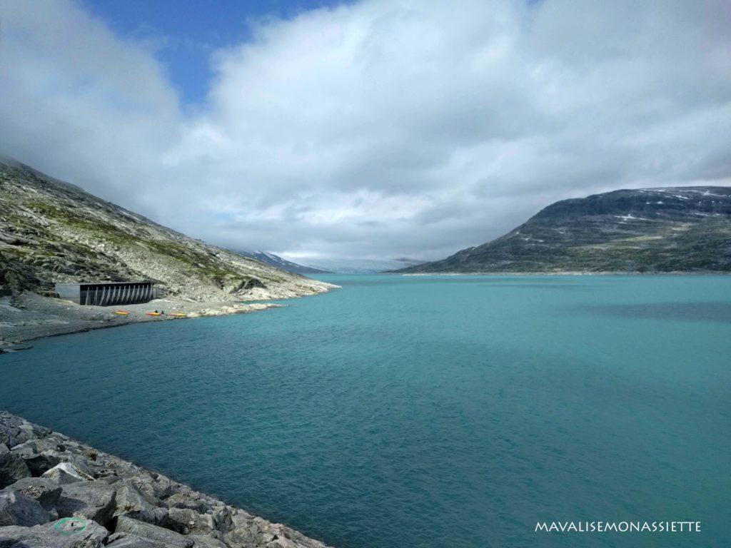 Lac glacé Styggevatnet