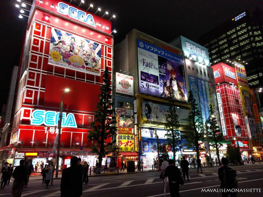 Dans les rue de Akihabara
