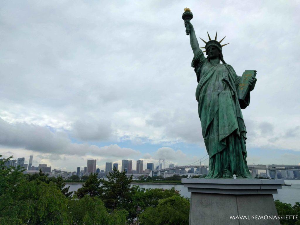 Statue Liberté Odaiba