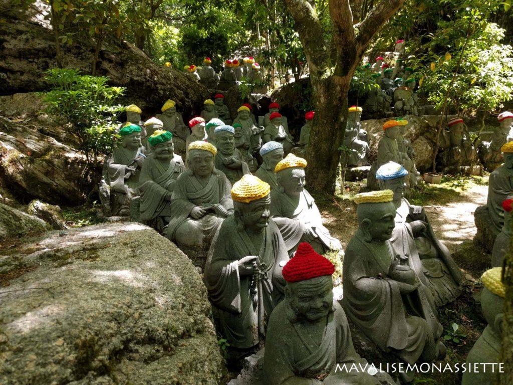 statues de Daisho-in