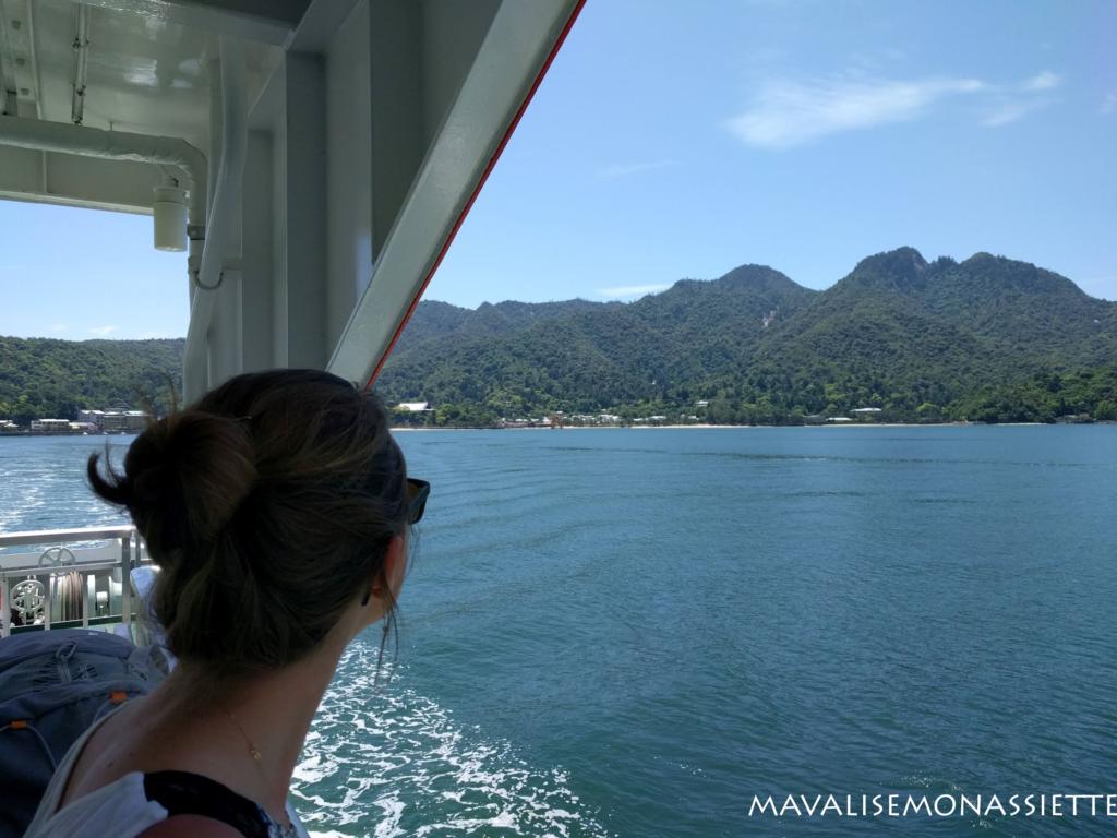 Ferry vers Miyajima